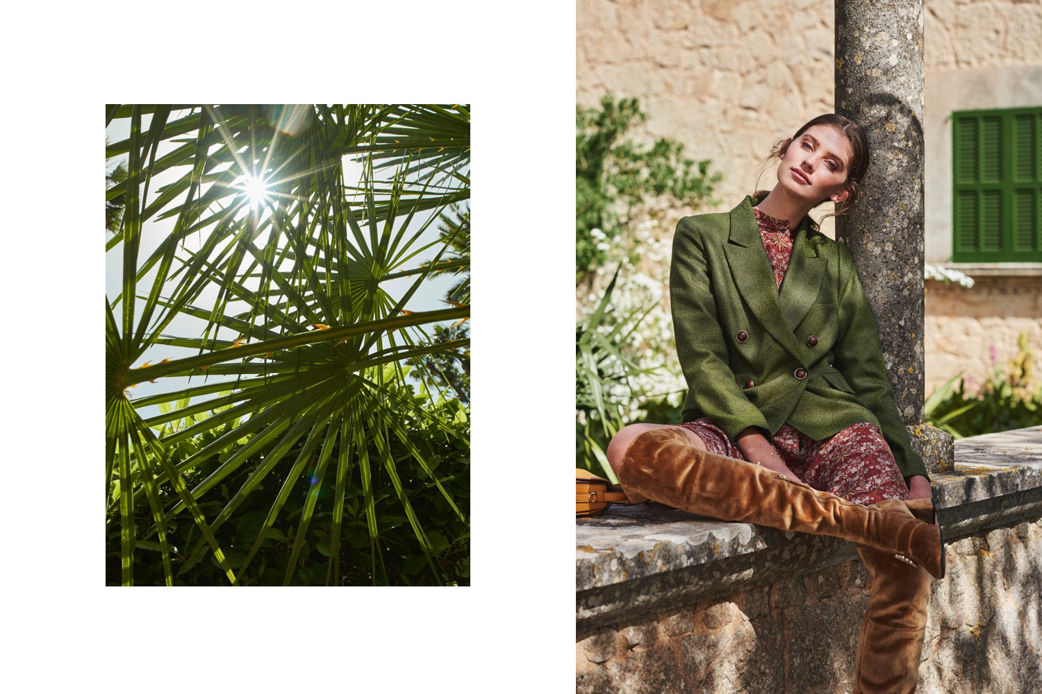 Astrid Obert Photography presents botanical burdastyle fashion